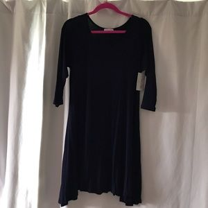 NWT Navy blue Pink Lily Dress